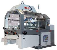 Boix Q-1800 tray forming machine for setting up small Plaform and C1 trays of corrugated board