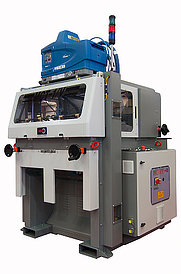 MCT1-V punnet machine for setting up small trays and punnets of solid and corrugated board