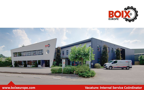 Vacature Internal Service Coordinator Boix Europe Eerbeek