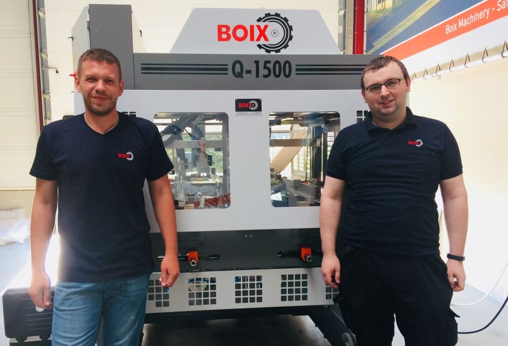 FAT and training Boix Q-1500 tray forming machine