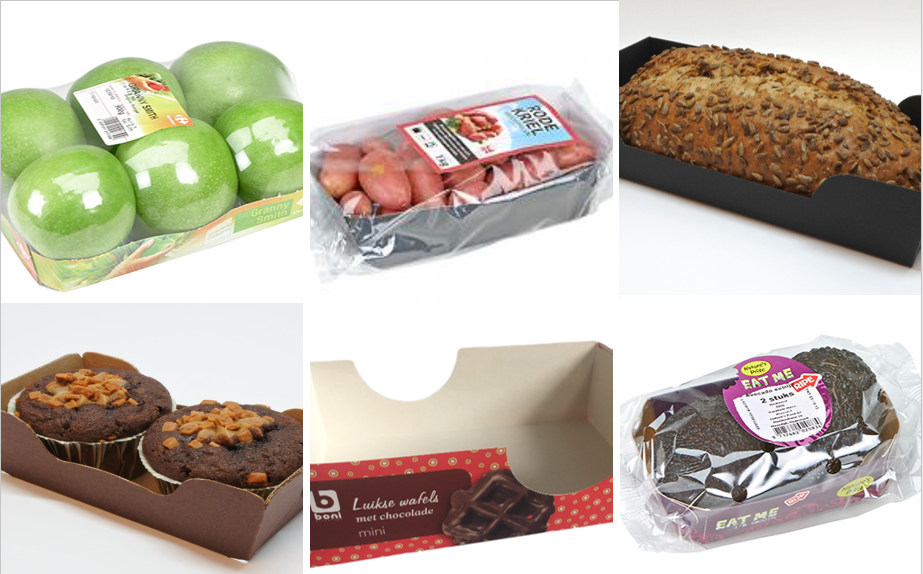 Small cardboard trays and punnets for sustainable packaging-1